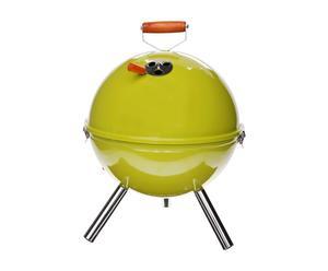 Barbecue à charbon, inox - Ø30