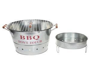 Barbecue à charbon, zinc - Ø40
