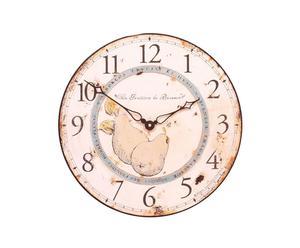 Grande horloge PEARS Bois, Rose - Ø36