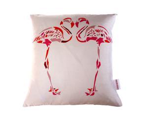 Coussin Flamingo, Soie - 35*35