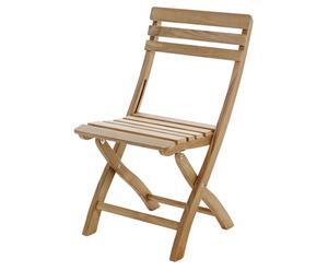 Chaise, Teck - L45