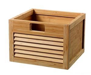 Boîte de rangement bambou, Naturel - 35*24