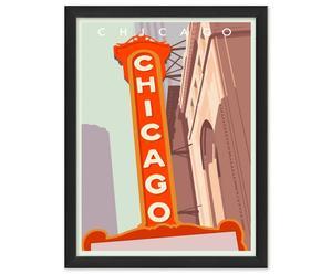Tableau Chicago, Papier d'archivage - L30