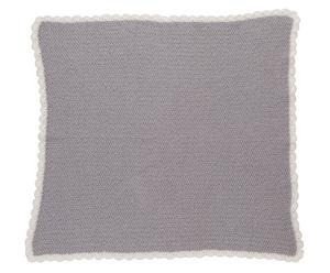 Couverture Coton organique, Gris – L70