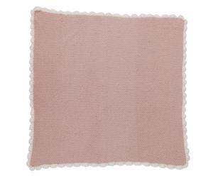 Couverture Coton organique, Rose – L70