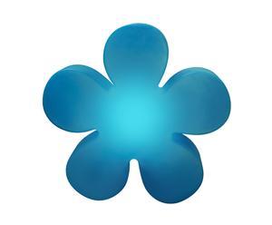 Lampe Flower Polyéthylène, Bleu - Ø40