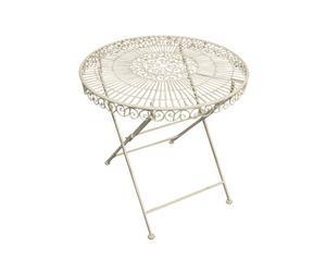Table de jardin, Fer - Ø95