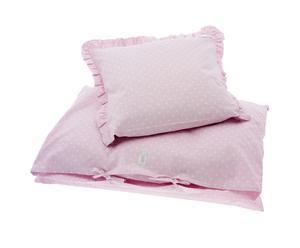 1 Housse de couette et 1 Taie d'oreiller Little Princess, coton – 80*100