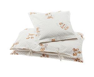 1 Housse de couette et 1 Taie d'oreiller Dreamy Rose, coton – 70*80
