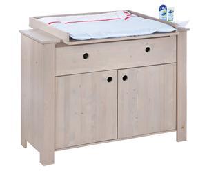 Table à langer, épicéa - H97