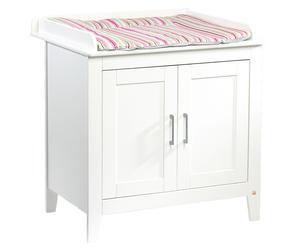 Table à langer pin, blanc - H97