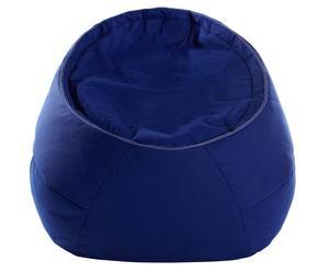 Pouf poire Laze, Bleu - L110