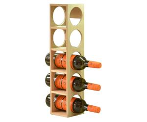 Casier à bouteilles Chêne, Naturel - H54