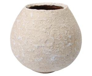 Cache-pot Béton, Blanc vieilli - Ø24