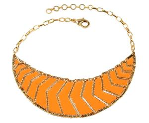 Collier Kapoor Sea, Laiton - Doré et orange