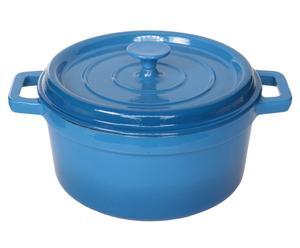 Cocotte Fonte, Bleu - Ø24