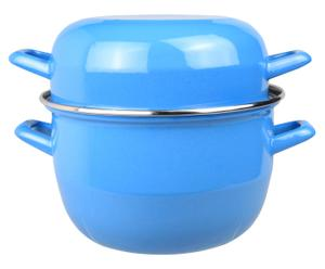 Marmite inox, bleu - Ø20
