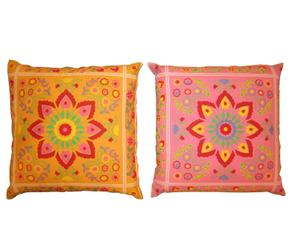 2 Coussins, Polyester - Multicolore