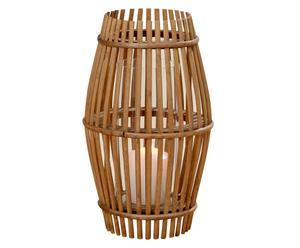 Lanterne DIANE Bambou, Naturel - H31