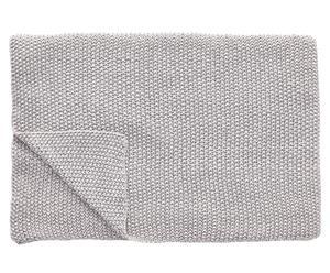 Couverture LYDIA Coton, Gris - 170*130