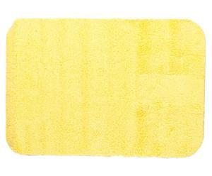 Tapis de bain POP Coton, Jaune - 75*50