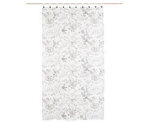 Rideau Polyester, Blanc - L250