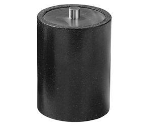 Pot à cotons Polyrésine, Noir - H10