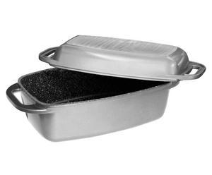 Marmite aluminium, anthracite - 20*32