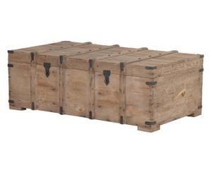 Table basse COLONIAL, naturel - L135