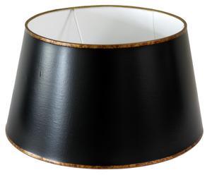Abat-jour métal, noir - Ø36