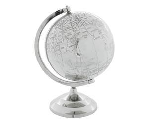 Globe COLONIAL, argenté - H30