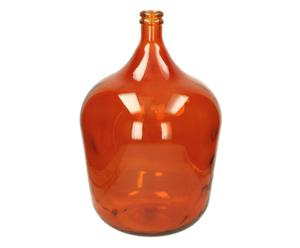 Vase ELAINE verre, orange - H56