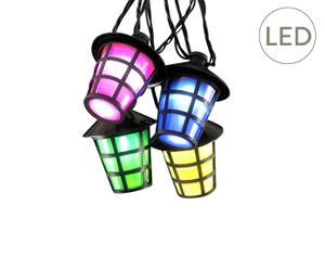 LED-Lampion-Lichterkette Lore, L 9,75 m