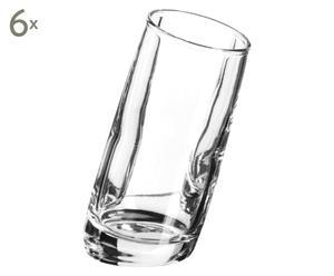 6 Verres à liqueur OTNIEL verre, transparent - H8
