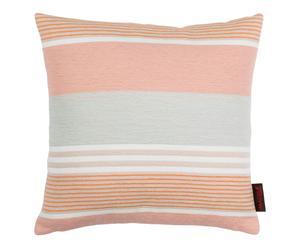 Housse de coussin LULU polyester et coton, multicolore - 40*40