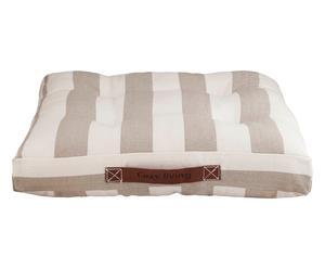 Coussin de chaise COTTAGE coton et polyester, kaki - 45*45