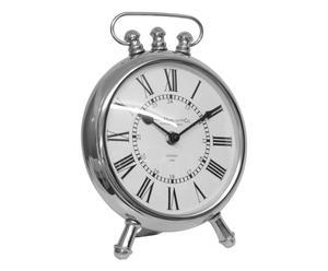 Horloge, argenté et blanc - 25*29