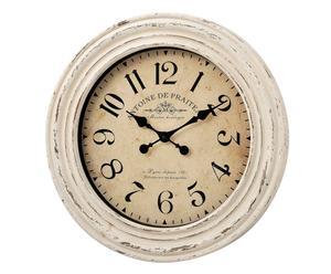 Horloge murale ANTOINE, beige et noir - Ø60
