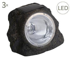 Lampe solaire led NADA, noir - L15