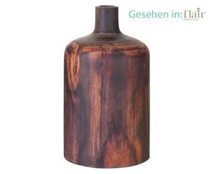 Vase Timber, teck massif - H20