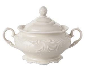 Sucrier, Porcelaine - L16