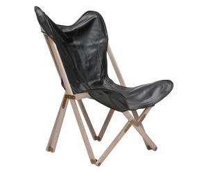 Chaise pliante Stuart Side, noir