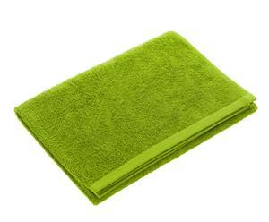 Drap de bain, coton - Vert