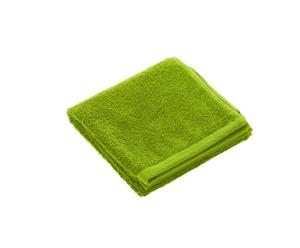 Serviette de toilette, coton -  Vert