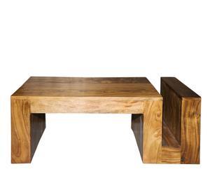 Table basse, acacia - H180