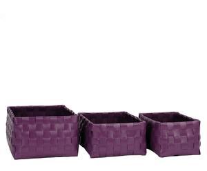 3 Paniers, Violet