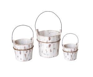 3 Jardinières, bois
