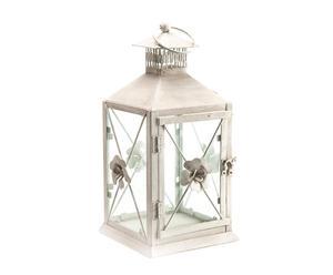 Lanterne Métal, Blanc - H37
