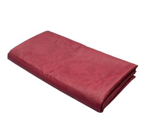 Nappe antitaches Jacquard Coton et  Polyester, Rouge -  180*180