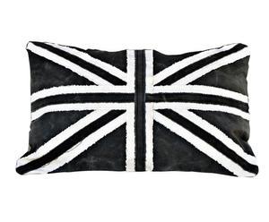 Coussin Coton, Blanc et noir - 40*60